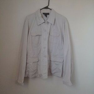 Venezia Button Down Jacket Plus 18/20W  Kha